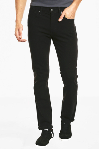 Levi's 511 Slim Fit Ottawa Commuter Jeans in Noir