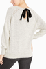 Jack by BB Dakota Bridget Bow Sweater in Ivory