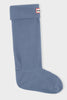 Hunter Polar Fleece Boot Socks in Mineral Blue