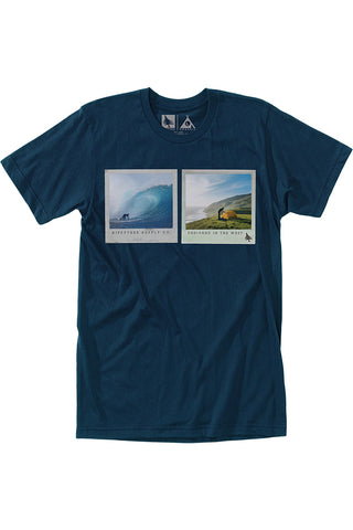 Capture Tee in Navy