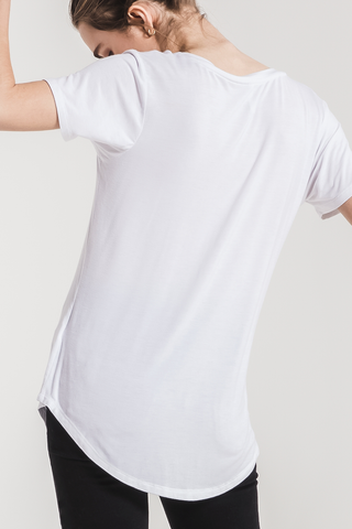 Z Supply Sleek Pocket Tee in White