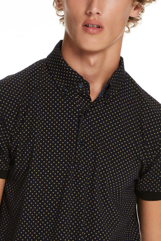 Scotch and Soda We Are Your Friends Polo in Navy