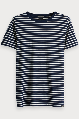 Scotch & Soda Smooth Sailing Crew in Stripe