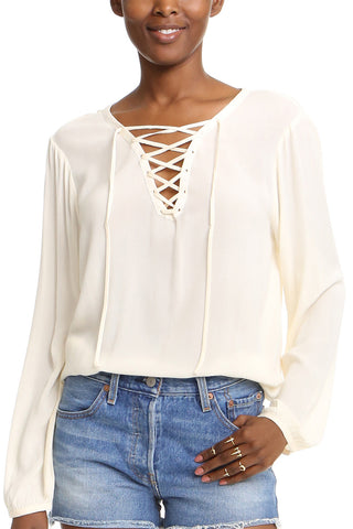 Jack by BB Dakota Kylie's Kiss Top in Cream