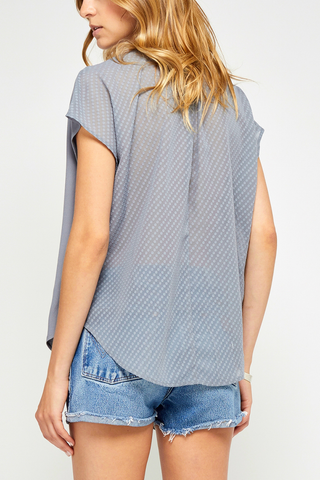 Gentle Fawn True Fate Top in Slate