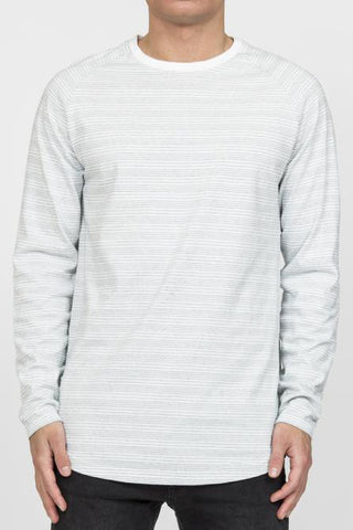 RVLT Shoreline L/S Tee in White
