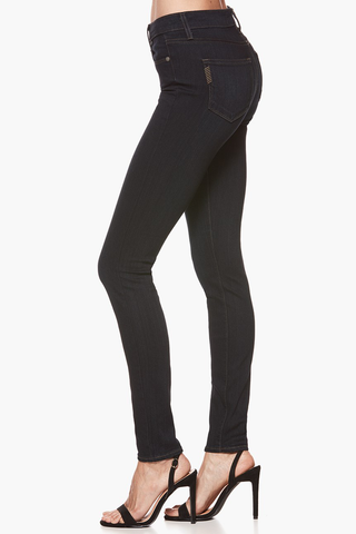 Paige Hoxton High Rise Skinny in Albastro