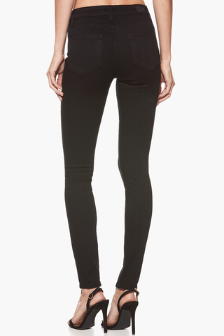Paige Hoxton High Rise Skinny in Noir