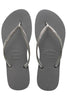 Havaianas Slim in Steel Grey