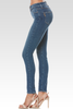 Paige Hoxton High Rise Skinny in Ocean