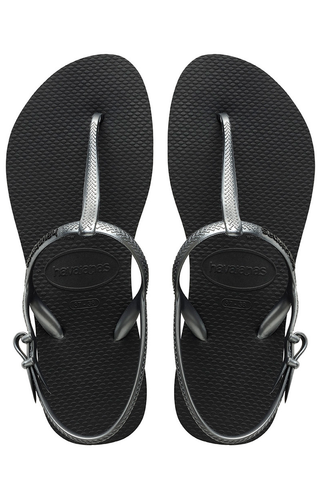 Havaianas Freedom Sandals in Black