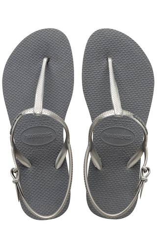 Havaianas Freedom Sandals in Grey