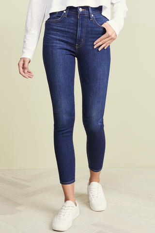 Levi's Kim Mile High Rise in Indigo