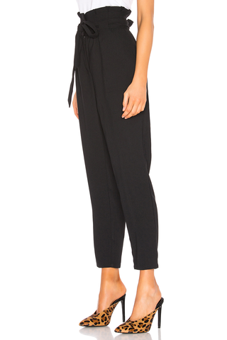 Cupcakes and Cashmere Travelling Heart Pants in Black