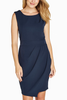 Lillie Dress in Navy
