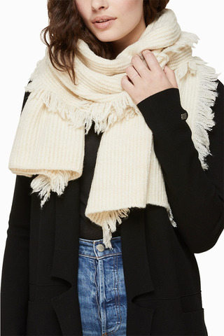 Soia & Kyo Candide Scarf in Sandstone