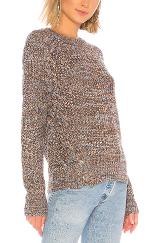 John and Jenn Roselle Sweater in Caramel