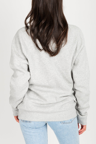 Brunette The Label Brunettes Rule! Sweater in Ash