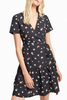French Connection Chelsea Dress in Black