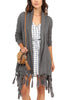Jack by BB Dakota Up To You Wrap in Grey