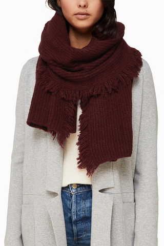 Soia & Kyo Candide Scarf in Dewberry