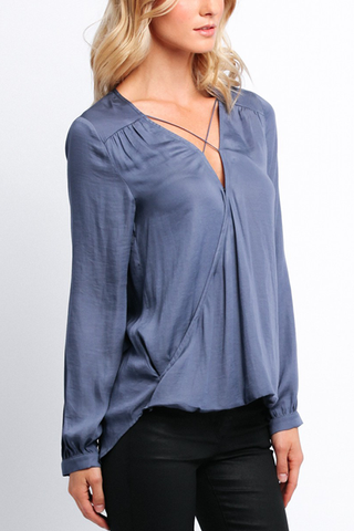 Carmen Blouse in Dusk