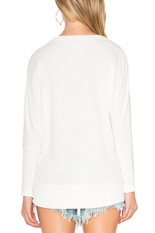 Cupcakes and Cashmere Warm Embrace Sweater in Cream