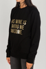 Brunette The Label Wine Time Sweater in Gold
