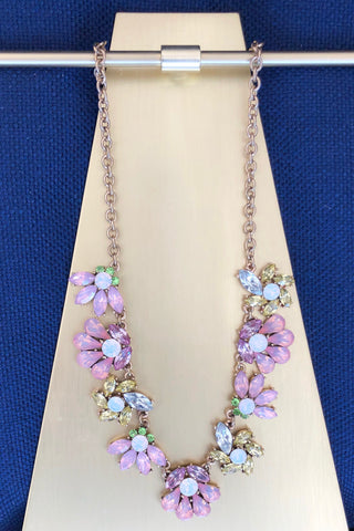 Kacey Necklace in Pink