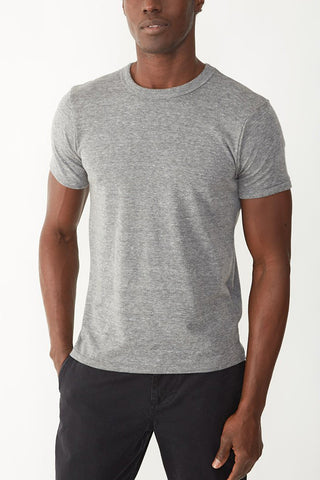 Alternative Eco Heather Crew Tee in Grey