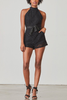 BB Dakota Sandy Romper in Black
