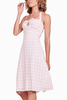 BB Dakota Candice Halter Dress in Pink