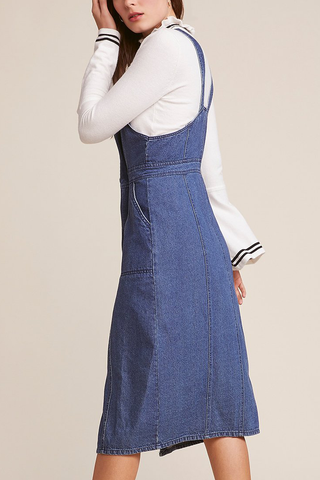 BB Dakota Kesha Denim Dress in Denim