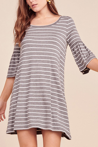 BB Dakota Mila Dress in Grey