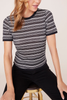 BB Dakota Spencer Stripe Top in B/W