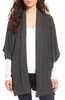Cupcakes and Cashmere Human Touch Cardi in Grey