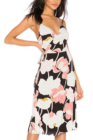 Cupcakes and Cashmere Peony Dress in Dark Floral