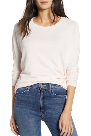 Cupcakes and Cashmere Perdita Sweater in Pink