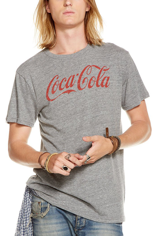 Chaser Soda Pop Tee in Grey