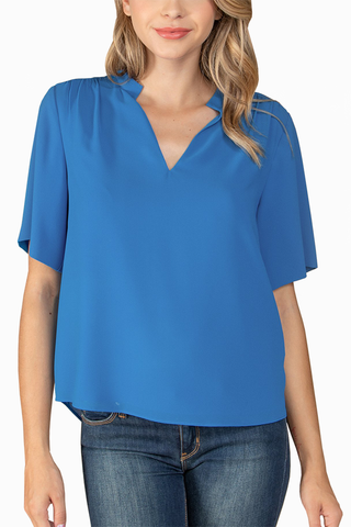 Milana Top in Blue