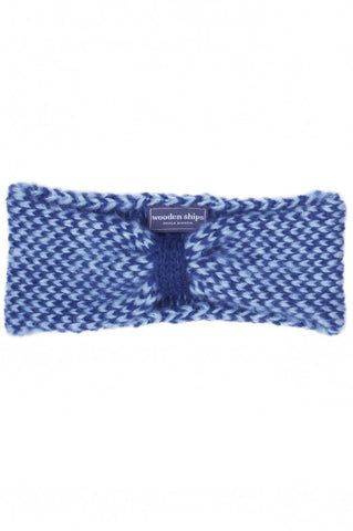 Dylan Headscarf in Ocean/Soft Blue