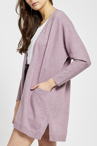 Gentle Fawn Elliana Cardigan in Plum