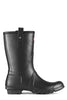 Hunter Boots Mens Short Rain Boots in Black