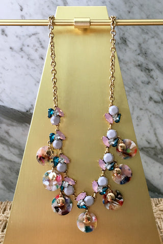 Miley Necklace in Multi
