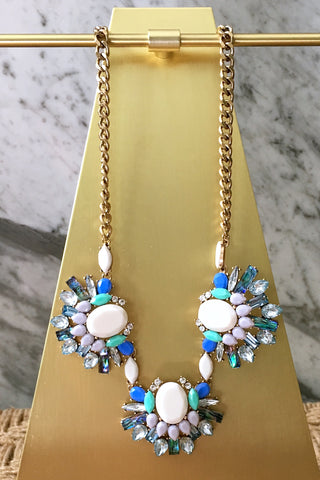Brandy Necklace in Blue