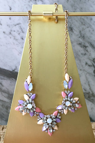 Jann Necklace in Purple