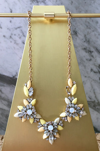 Jann Necklace in Yellow