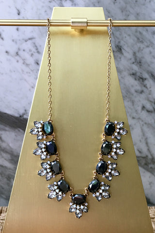 Carrie Necklace in Black