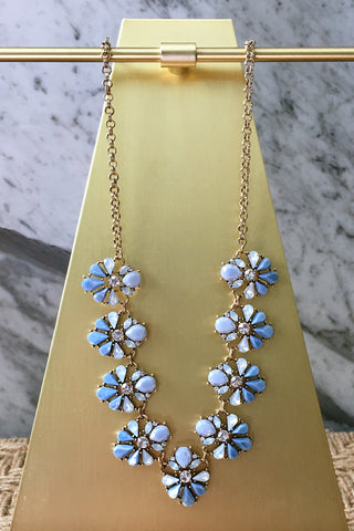 Ani Necklace in Blue