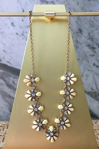 Ani Necklace in Yellow
